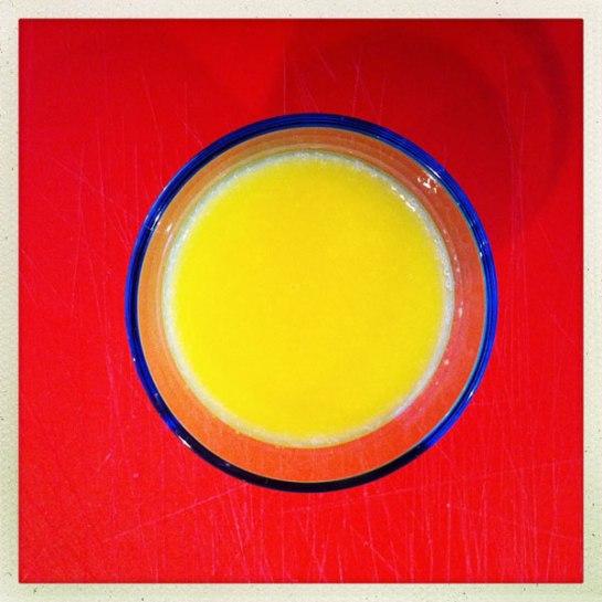smoothie, apelsin, mango, ananas