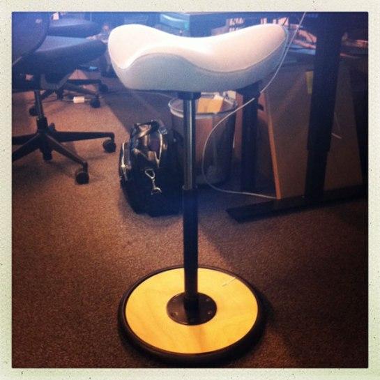 ergonomisk pall